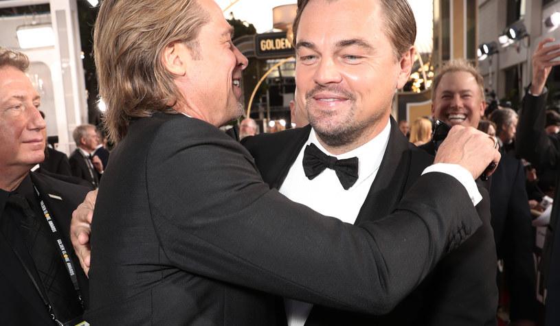 Brad Pitt i Leonardo Dicaprio /Todd Williamson/NBC/NBCU Photo Bank /Getty Images
