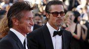 Brad Pitt i Sean Penn w Cannes