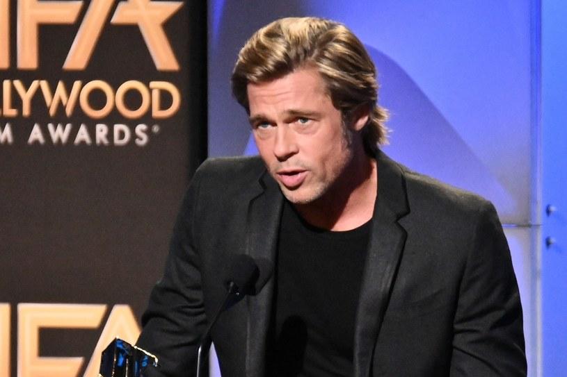 "Brad Pitt jest fanem serialu ""Gra o Tron"" /Rex Features /East News"