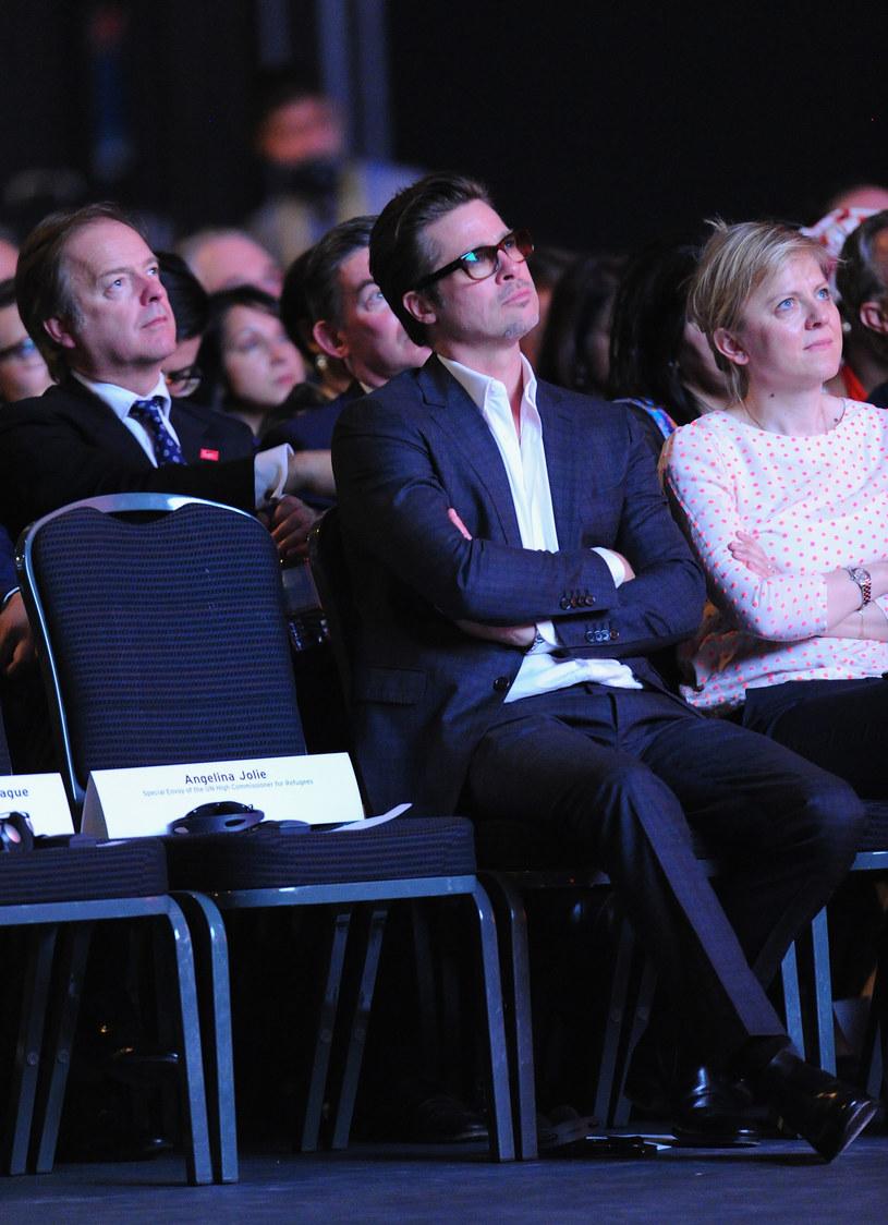 Brad Pitt ma już dość oziębłości żony! /Eamonn M. McCormack /Getty Images