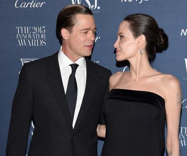 Brad Pitt robi się agresywny po alkoholu i trawce?