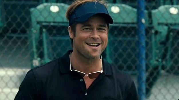 """Brad Pitt w scenie ze swojego nowego filmu """"Moneyball"""" /materiały prasowe"""