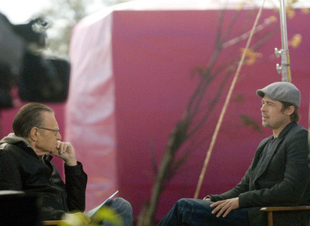 Brad Pitt wystąpił w najnowszym filmie Terrence'a Malicka zamiast Heatha Ledgera. /AFP