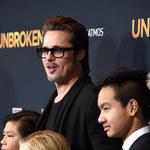Brad Pitt z dziećmi na premierze!