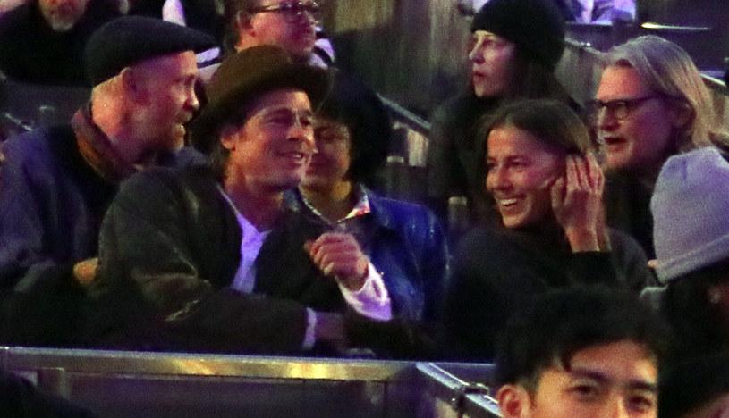 Brad Pitt z Nicole Poturalski /SplashNews.com /East News