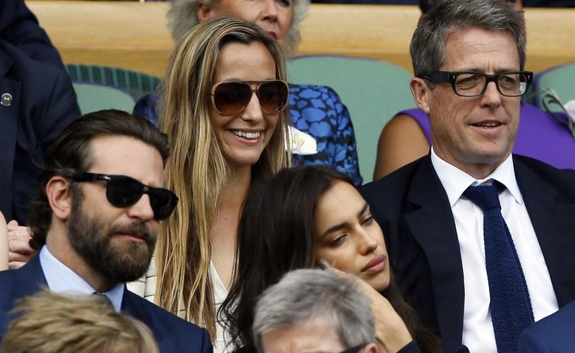 Bradley Cooper i Irina Shayk na finale Wimbledonu /AP/FOTOLINK /East News