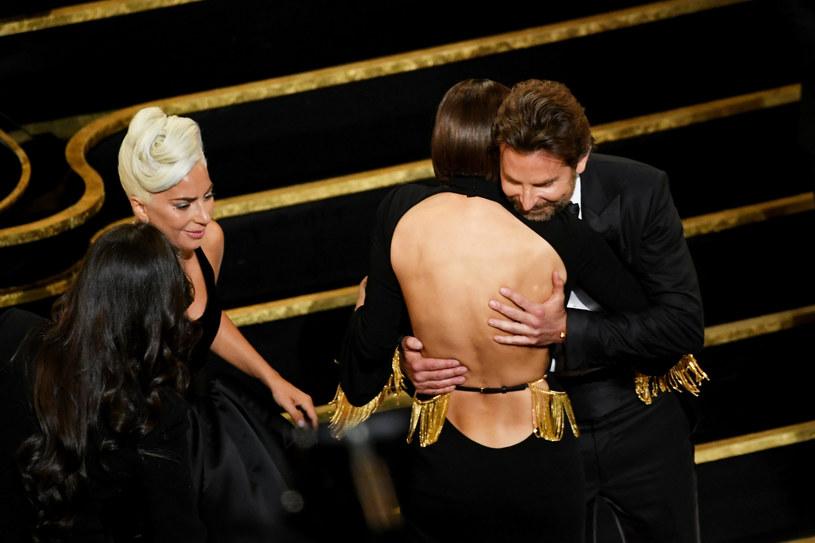 Bradley Cooper i Irina Shayk na Oscarach /Kevin Winter /Getty Images