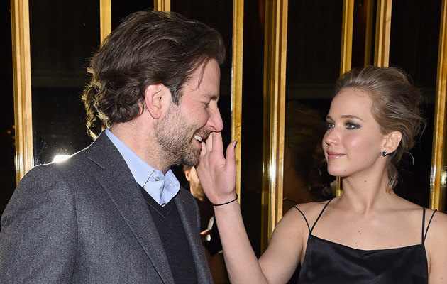 Bradley Cooper i Jennifer Lawrence /Jamie McCarthy /Getty Images
