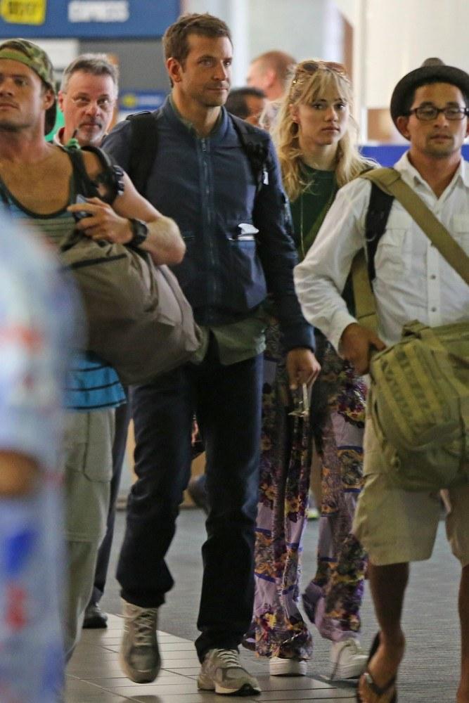 Bradley Cooper i Suki Waterhouse /- /East News