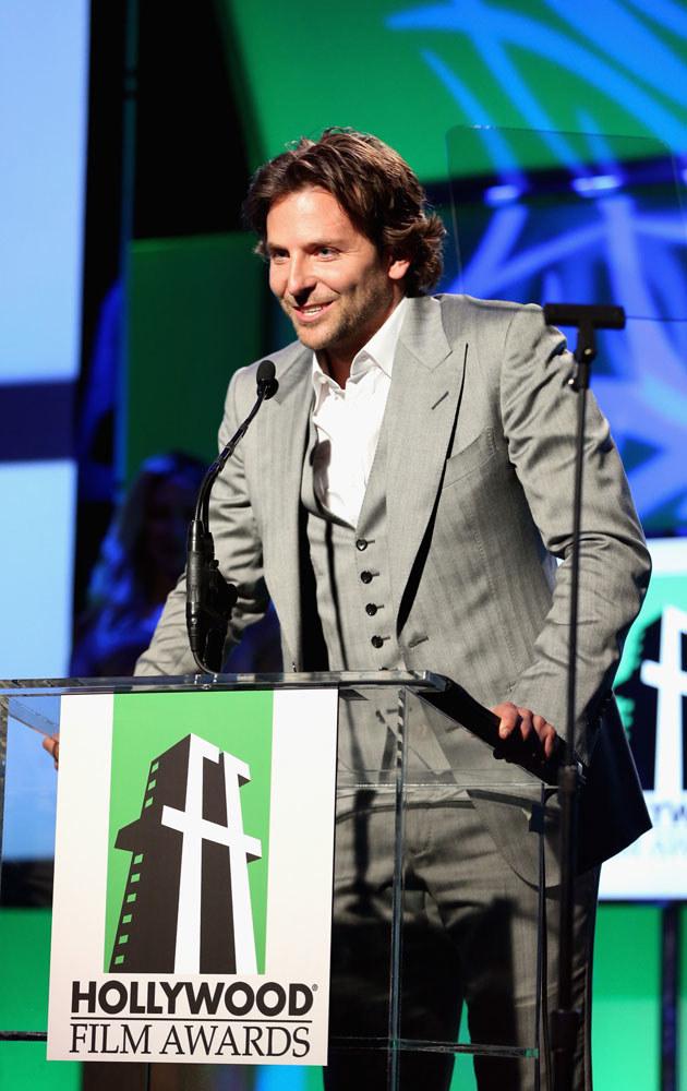 Bradley Cooper niespodziewanie zdradził swoją tajemnicę całemu światu /Christopher Polk /Getty Images