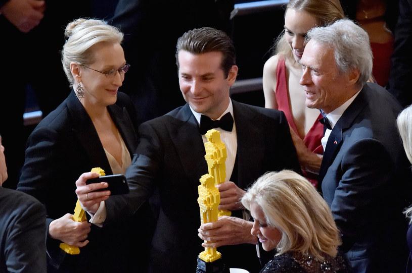 Bradley Cooper: Oscar z klocków lego? /Kevin Winter /Getty Images