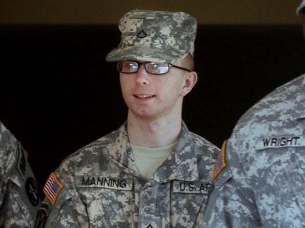 Bradley Manning chce zmienić imię na Chelsea. /MICHAEL REYNOLDS    /PAP/EPA