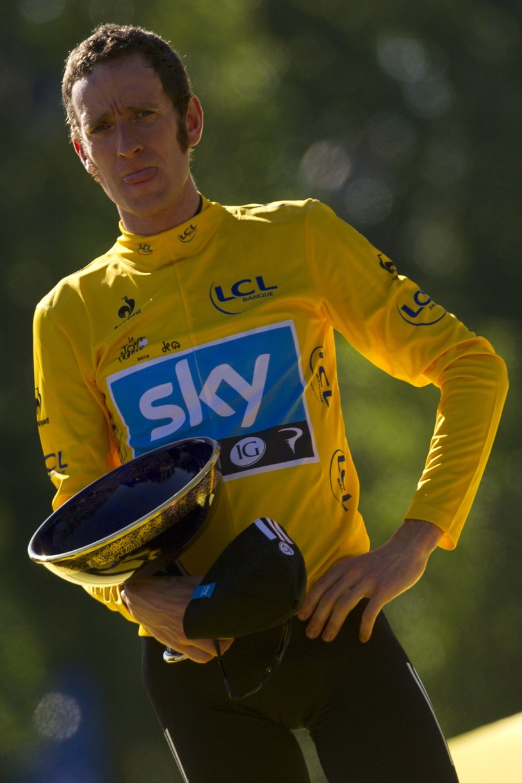 Bradley Wiggins, zwycięzca Tour de France w 2012 roku /AFP