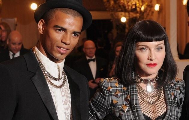 Brahim Zaibat i Madonna /- /Getty Images
