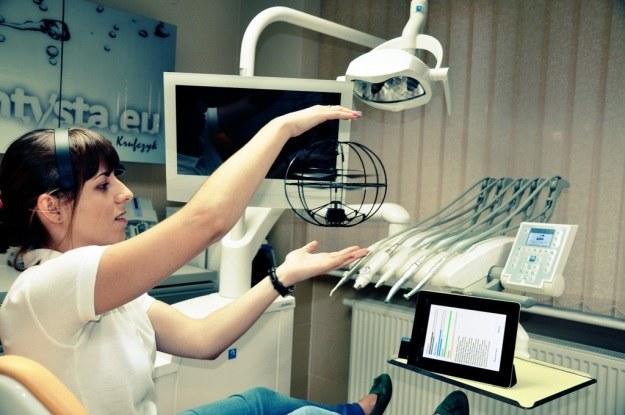 Braincopter pozwala zrelaksować się przed wizytą u stomatologa /materiały prasowe