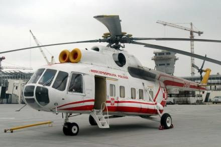 Brak śmigłowca może zagrażać życiu i zdrowiu mieszkańców Małopolski /Agencja SE/East News