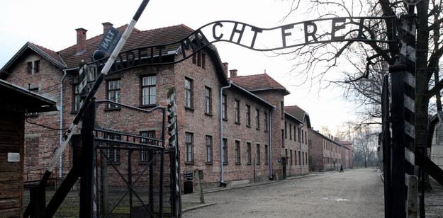 Brama KL Auschwitz /PAP/Andrzej Grygiel    /PAP