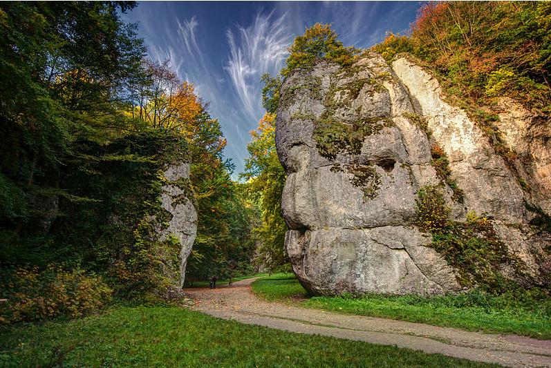 Brama Krakowska, specjalny obszar ochrony siedlisk Dolina Prądnika /Aneta Pawska/Wikimedia commons /
