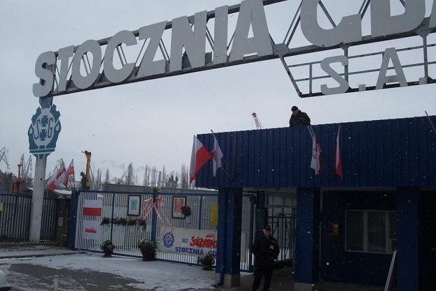 Brama nr 2 Stoczni Gdańskiej ma być zrekonstruowana do połowy maja, fot. Wojciech Stróżyk /Reporter