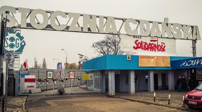 Brama Stoczni Gdańskiej /A. Stawiński /Reporter