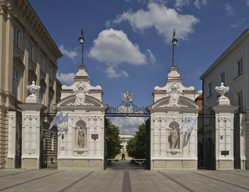 Brama Uniwersytetu Warszawskiego /Włodzimierz Wasyluk /East News