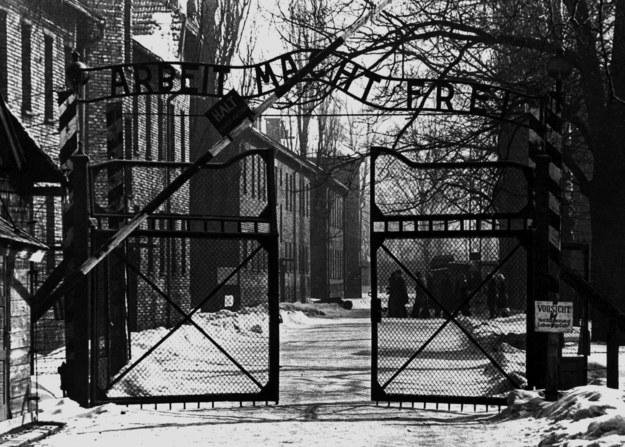 Brama wejściowa obozu koncentracyjnego Auschwitz /Mondadori Collection/UIG /Agencja FORUM