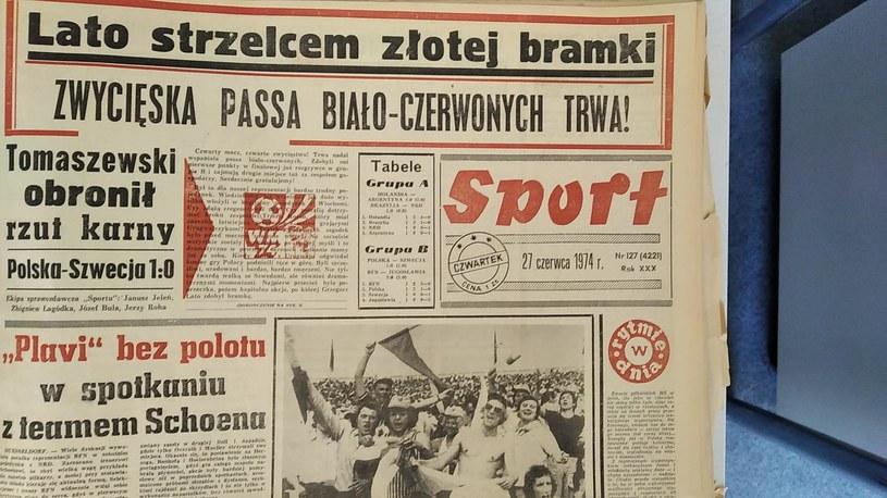 Bramka Grzegorza Laty zdecydowała o wygranej ze Szwedami na mundialu w 1974 roku