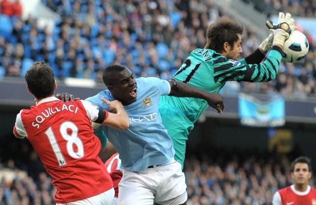 Bramkarz Arsenalu Łukasz Fabiański /AFP