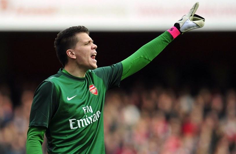 Bramkarz Arsenalu Wojciech Szczęsny /AFP