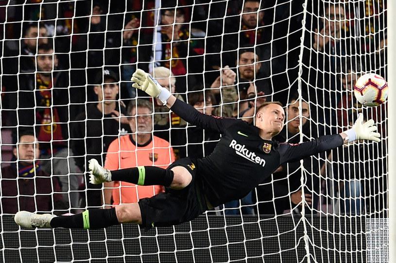 Bramkarz Barcelony - Marc-André ter Stegen /AFP