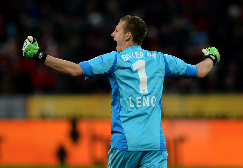 Bramkarz Bayeru -  Bernd Leno. /AFP
