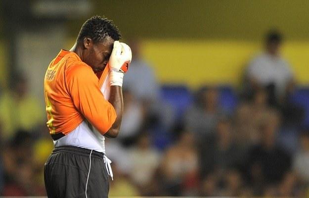 Bramkarz Espanyolu - Carlos Kameni. /AFP