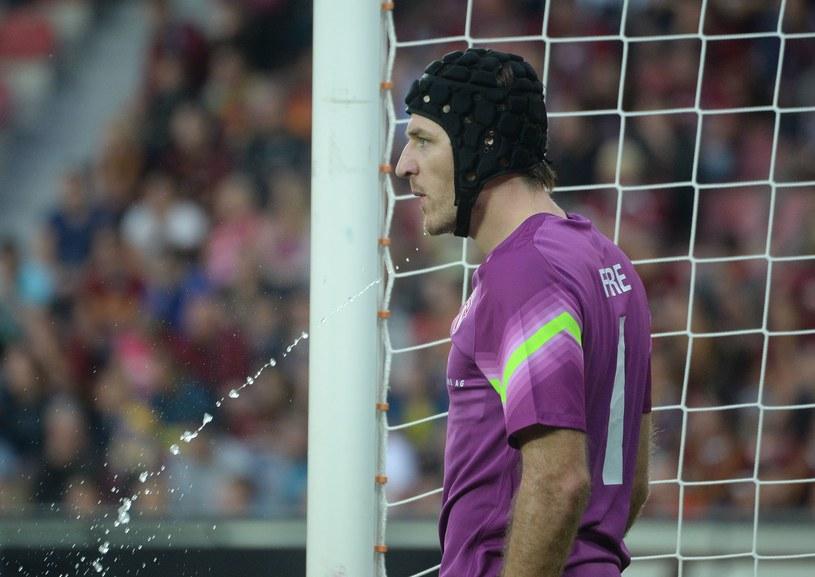 Bramkarz FC Thun Guillaume Faivre /AFP