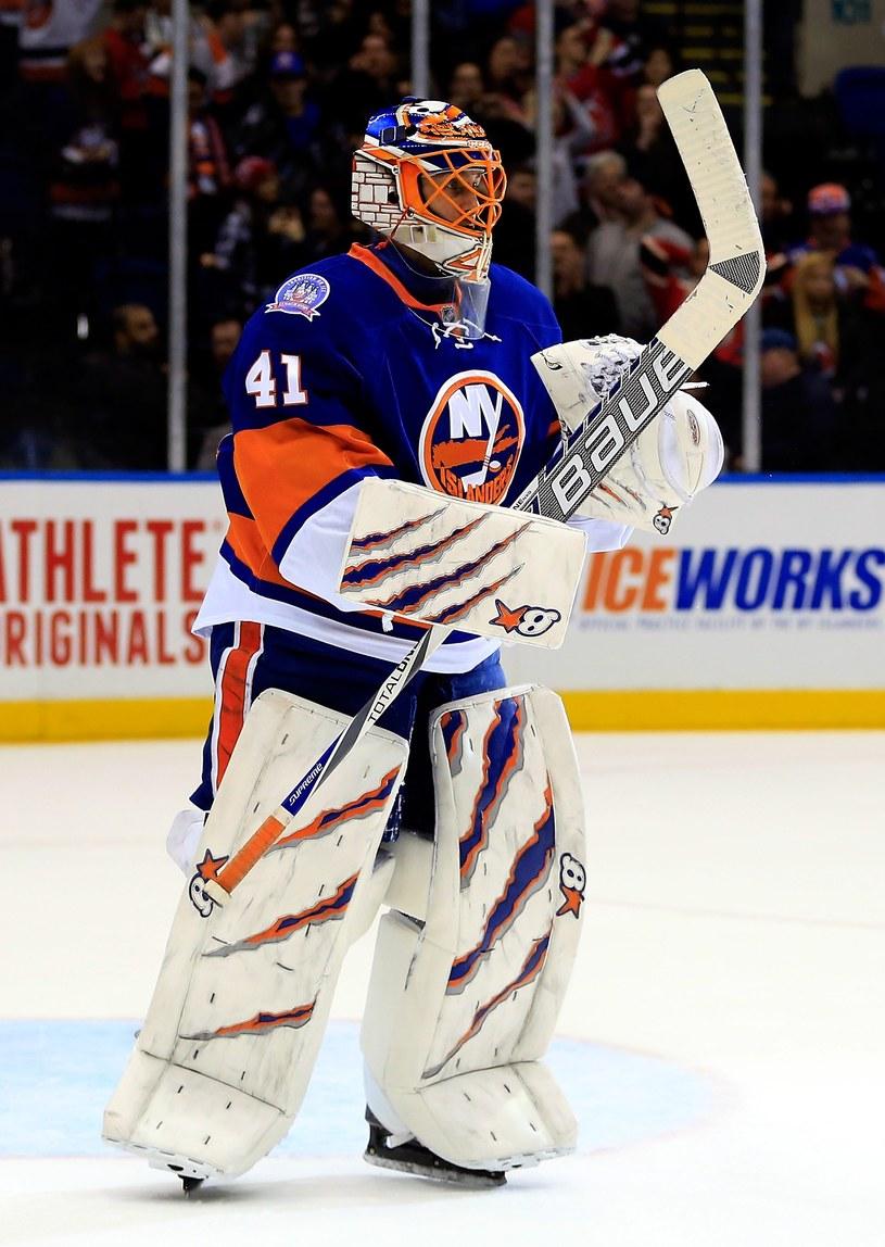 Bramkarz New York Islanders Jaroslav Halak /AFP