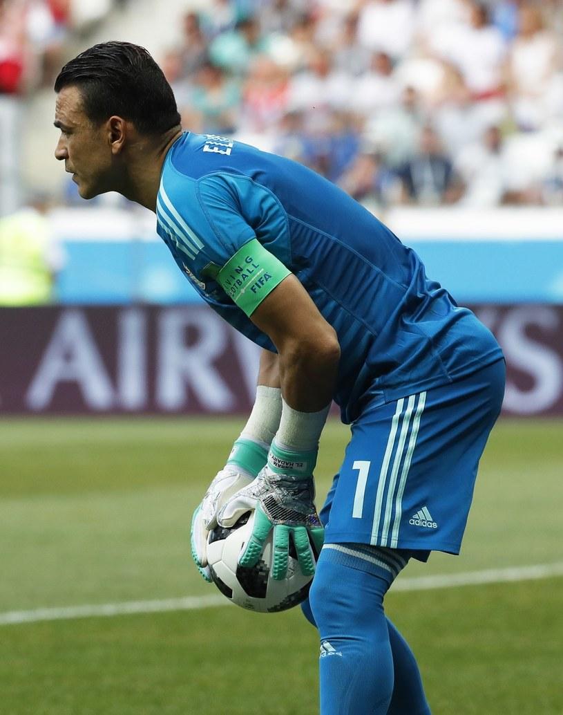 Bramkarz piłkarskiej reprezentacji Egiptu Essam El Hadary /PAP/EPA