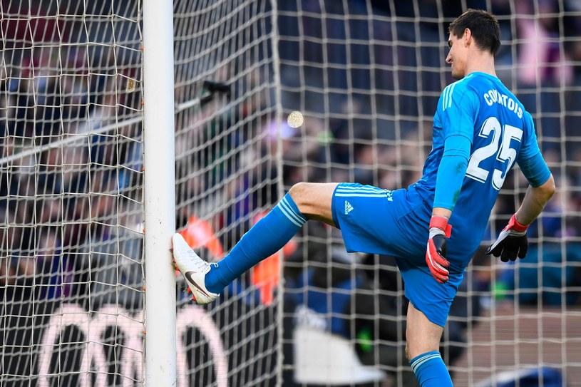 Bramkarz Realu Thibaut Courtois /AFP