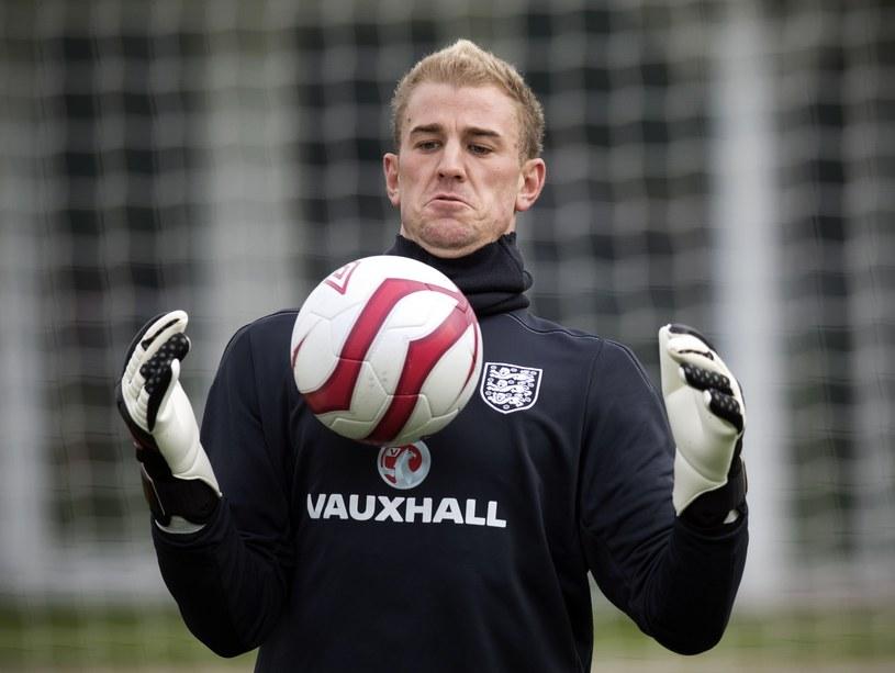 Bramkarz reprezentacji Anglii Joe Hart /AFP