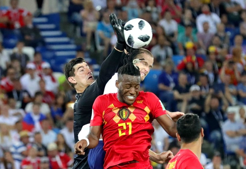 Bramkarz reprezentacji Belgii - Thibaut Courtois /PAP/EPA