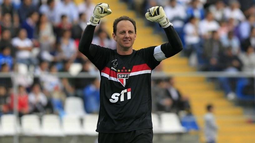 Bramkarz Sao Paulo FC - Rogerio Ceni /AFP