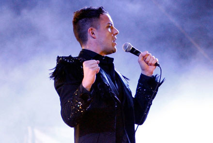 Brandon Flowers (The Killers) fot. Kevin Winter /Getty Images/Flash Press Media