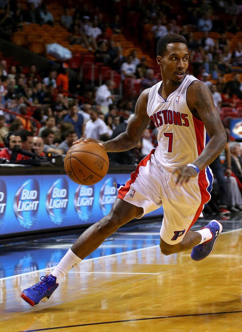 Brandon Jennings z Detroit Pistons /AFP