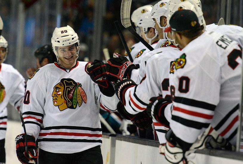 Brandon Saad z Chicago Blackhawks /AFP