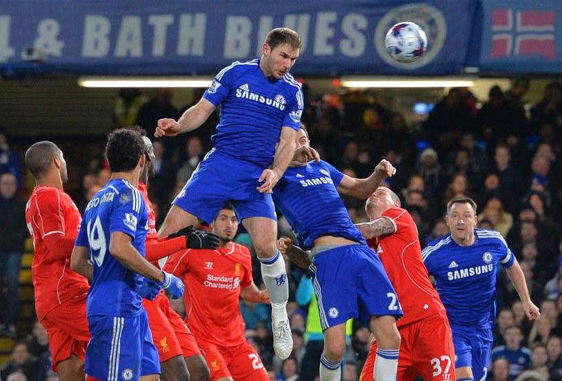 Branislav Ivanović strzela zwycięskiego gola dla Chelsea /AFP