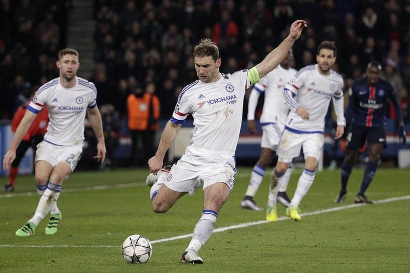 Branislav Ivanović w barwach londyńskiej drużyny /AFP