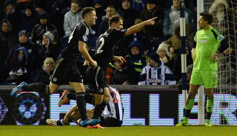 Branislav Ivanović zdobył bramkę dla Chelsea /AFP