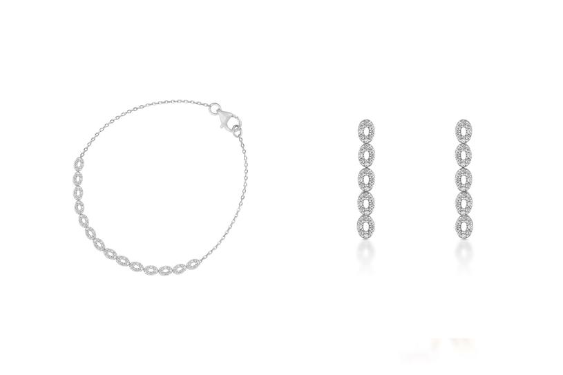 Bransoletka (ZBW/AC98B, 1290 zł) | Kolczyki (ZBW/KC98B, 969 zł) /materiały promocyjne