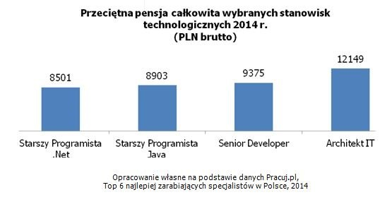 Branża IT jest jedną  z najprężniej rozwijającą się w Polsce /Pracuj.pl