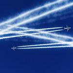 Branża lotnicza ma problem - smugi kondensacyjne ogrzewają klimat