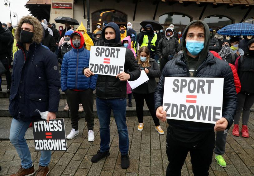 Branży fitness pomogły protesty / Jakub Kamiński    /East News