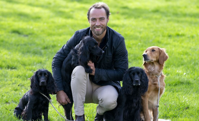 Brat księżnej Kate uwielbia czworonogi /Rex Features /East News